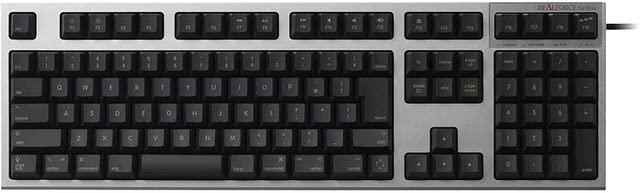 東プレ REALFORCE SA for Mac キーボード ブラック R2SA-JP3M-BK